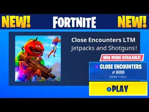 ''CLOSE ENCOUNTERS'' GAMEPLAY! *NEW* Fortnite LTM Game Mode! (Fortnite: Battle Royale) [Jetpack]