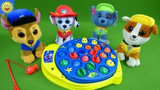 Paw Patrol Toys Play Go Fish Games Teaching Colors Best Learning Videos for Kids Growing Little Ones