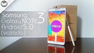 Como instalar o Android Lollipop 5.0 no Galaxy Note 3 *Versão OFICIAL Vazada* (Wandroid)