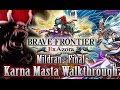 Brave Frontier - Mildran Karna Masta Walkthrough (Ft.3 Free Units)