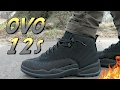 BLACK JORDAN 12 'OVO' REVIEW AND ON-FOOT