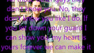 Repeat youtube video Jason Chen Still in Love Part 2 (Acoustic Version) Lyrics