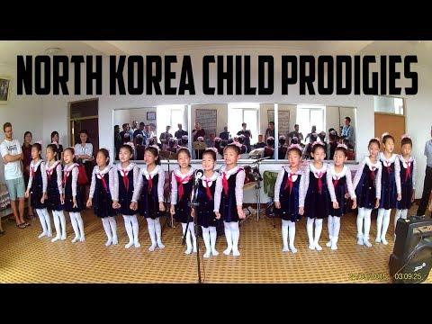 North Korean child prodigies give tourists excellent show!
