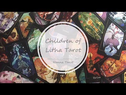 開箱  仲夏之子塔羅牌 • Children of Litha Tarot // Nanna Tarot