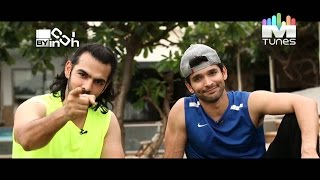 Karan Grover & Diganth Manchale's Workout | Inch By Inch | MTunes HD
