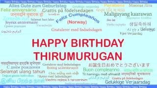 Thirumurugan   Languages Idiomas - Happy Birthday