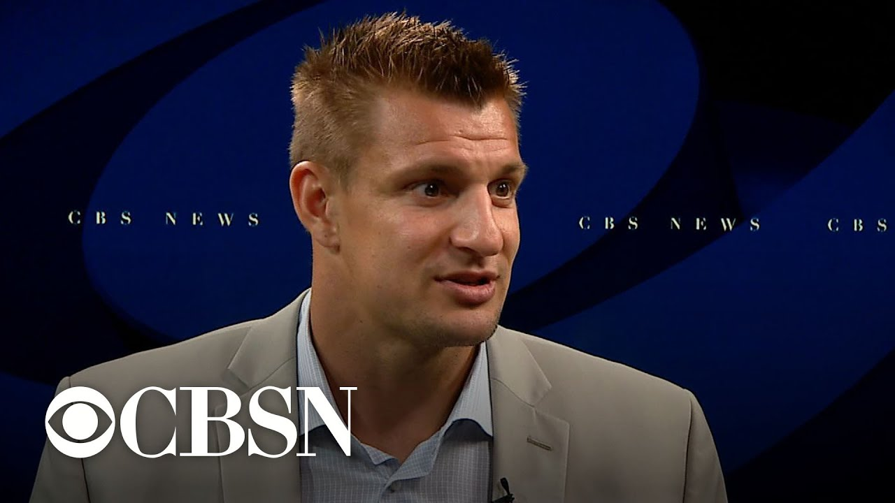 Former New England Patriot Rob Gronkowski Discusses Life After Football