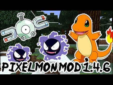 Download Instalação+Tutorial Pixelmon Mod 1.4.6 Pokémons!