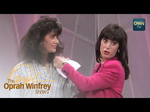 Hide Your Figure Flaws—with Shoulder Pads! | The Oprah Winfrey Show | Oprah Winfrey Network