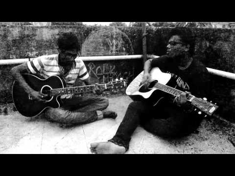 Prithibi Ta Naki Choto Hote Hote(acoustic Cover)