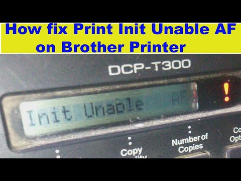 Unable To Print 4f Brother Dcp J125