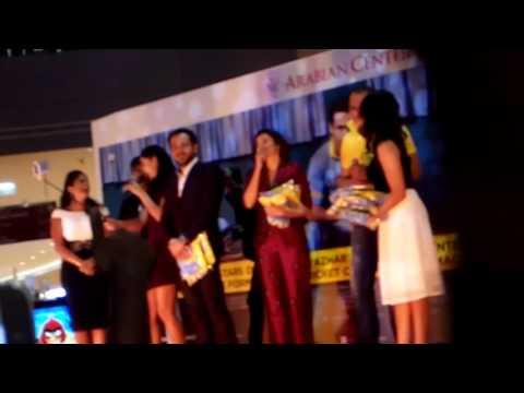 "Movie ""Azhar"" team at Arabian center Dubai"