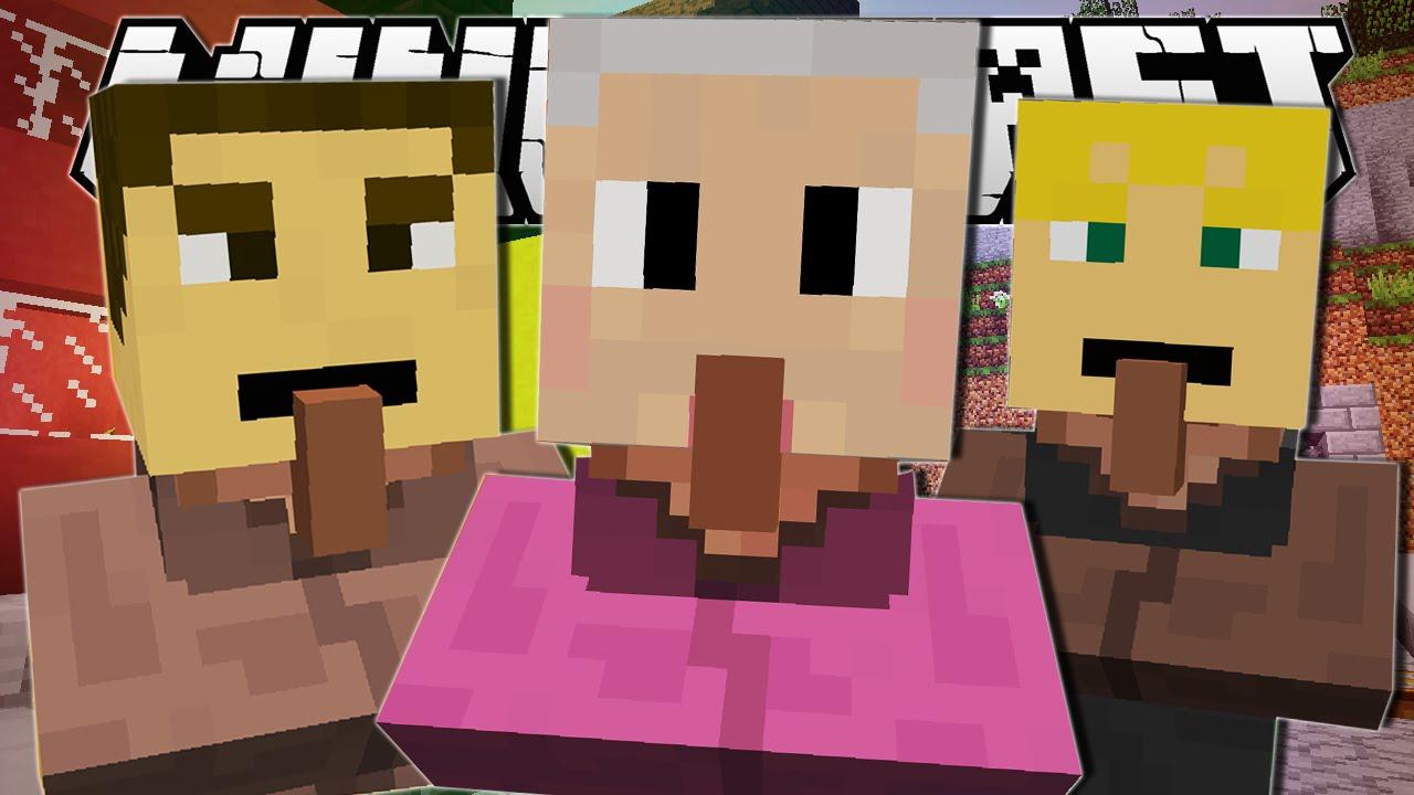 Minecraft | WEIRDEST TOWN EVER..
