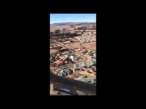 My Helicopter Ride Around my Home Town (Bethlehem South Africa)