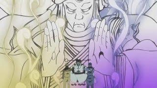 El sabio de los 6 caminos les da poder a Naruto y Sasuke | Naruto Shippuden