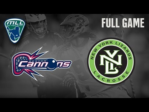 MLL's Youtube Game of The Week: Boston Cannons at New York Lizards