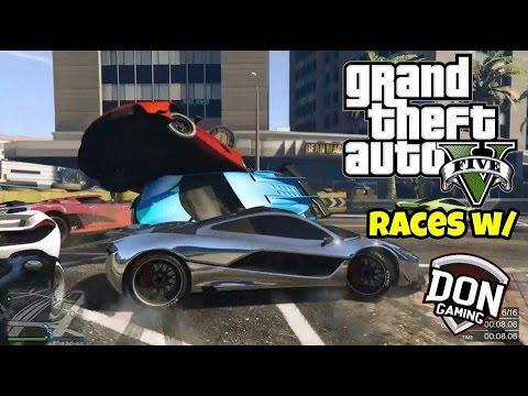 GTA 5: Fun Races #2 w/ Official_Don_Gaming