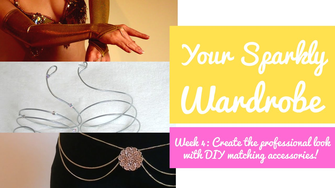 5 Easy DIY Accessories for Dancers! (Sew & No-Sew) - Your Sparkly Wardrobe Week 4