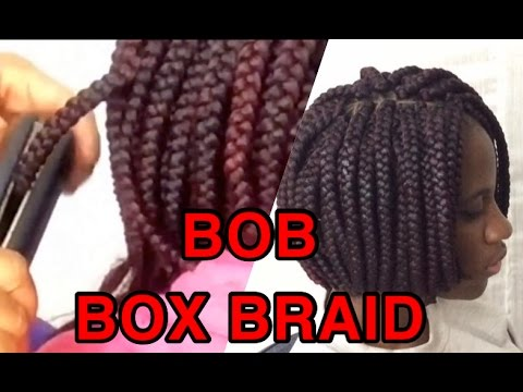 how-to-/bob-box-braids-/using-a-straightener-to-seal-the-tip