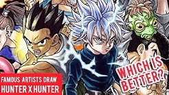 Famous Manga Artists Hunter X Hunter Drawings