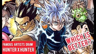 Famous Manga Artists Hunter X Hunter Drawings
