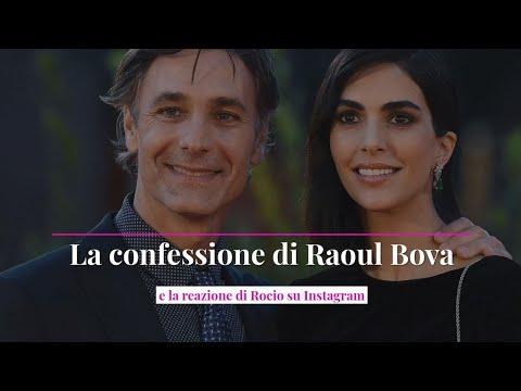 La confessione di Raoul Bova e la reazione di Rocio su Instagram