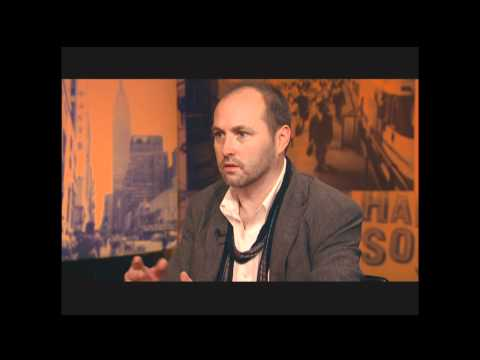 "City Talk: Colum McCann, author ""Let the Great World Spin"""