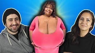 En büyük göğüslü kadın