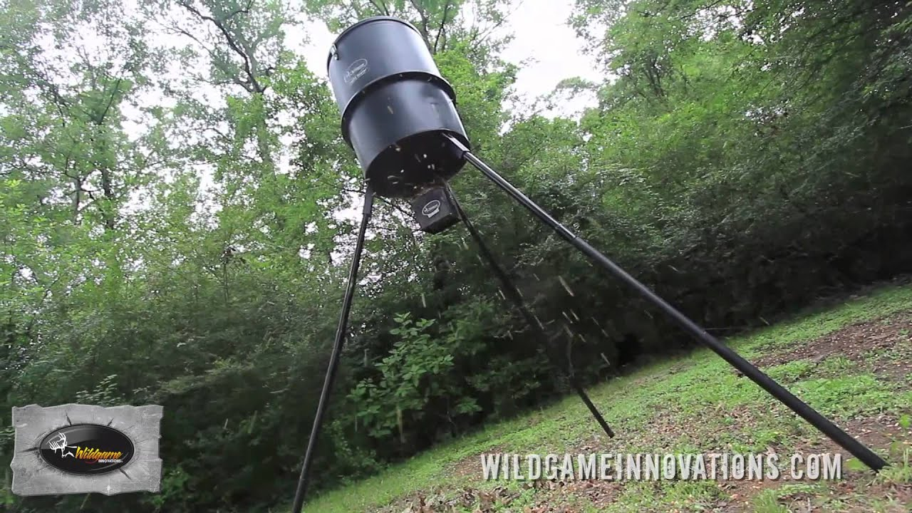 of trash youtube or deer pig made watch gallon a can feeder out making home