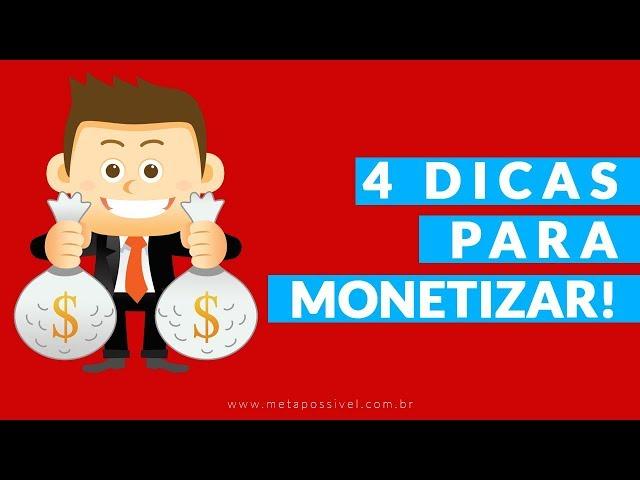 → 4 Dicas Para Alcançar A Meta De Monetização Do Youtube