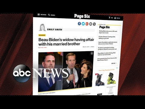 Beau Biden widow reportedly in romantic relationship with brother-in-law