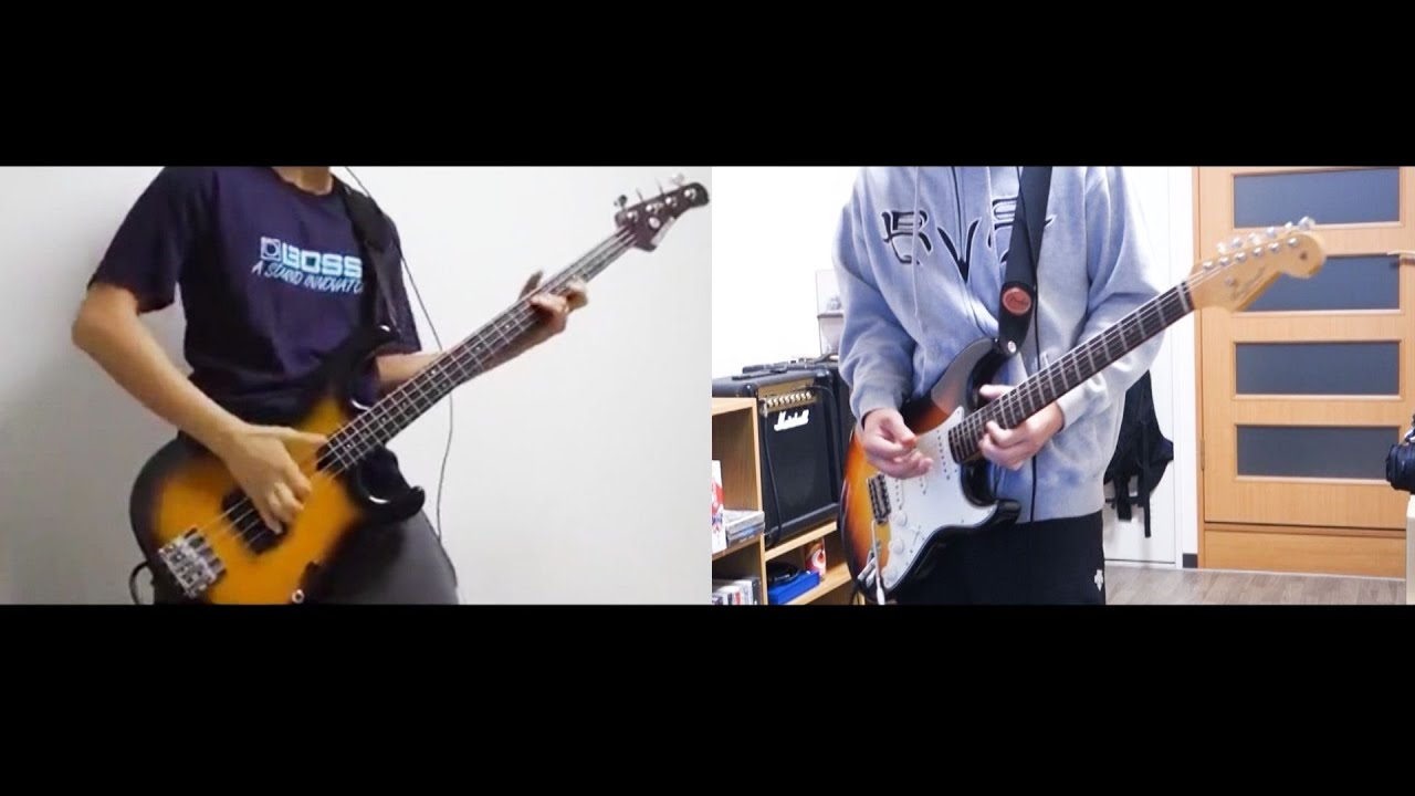 Rhcp this velvet glove bass cover