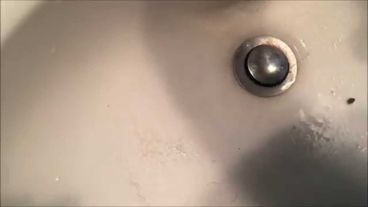 Unclog A Slow Draining Bathroom Sink