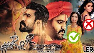 RRR Muvie full story trailer Ajay Devgan, NTR, Ram charn, Alia, Replace to Bhumi Pandeykar