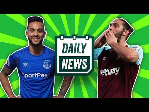 Everton sign Theo Walcott! Andy Carroll To Chelsea?  ►Onefootball Daily News
