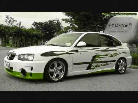 Hyundai Elantra Tuning Show Race Civic Vs Elantra Youtube
