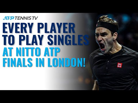 BEST Shot by EVERY Player to Play Singles at Nitto ATP Finals in London!