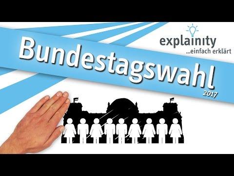 Bundestagswahl 2017 einfach erklärt (explainity® Erklärvideo)