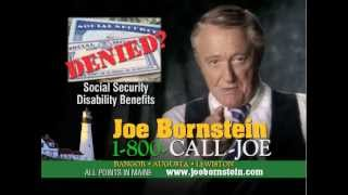 Government denied social security disability benefits? Maine Law Firm 1-800-CALL-JOE