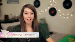 get to know christina grimmie   part 1