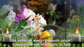 РАДОНИЦА  На небесах живут родные души... Молитесь же за них хоть иногда