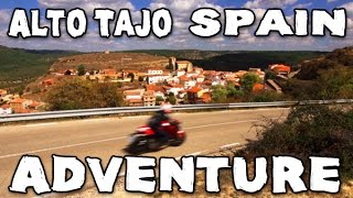 Alto Tajo / Spain - Ducati Monster 821 Stripe - MotoGeo Adventures