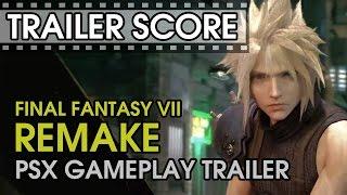 Final Fantasy VII Remake PSX - Gameplay - Trailer Score