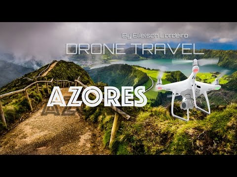 Holiday in Azores - São Miguel Island - From above by Drone Travel