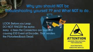 Why the End USER should Not Attempt to Dismantle | Try Repairing Servo Motors ..