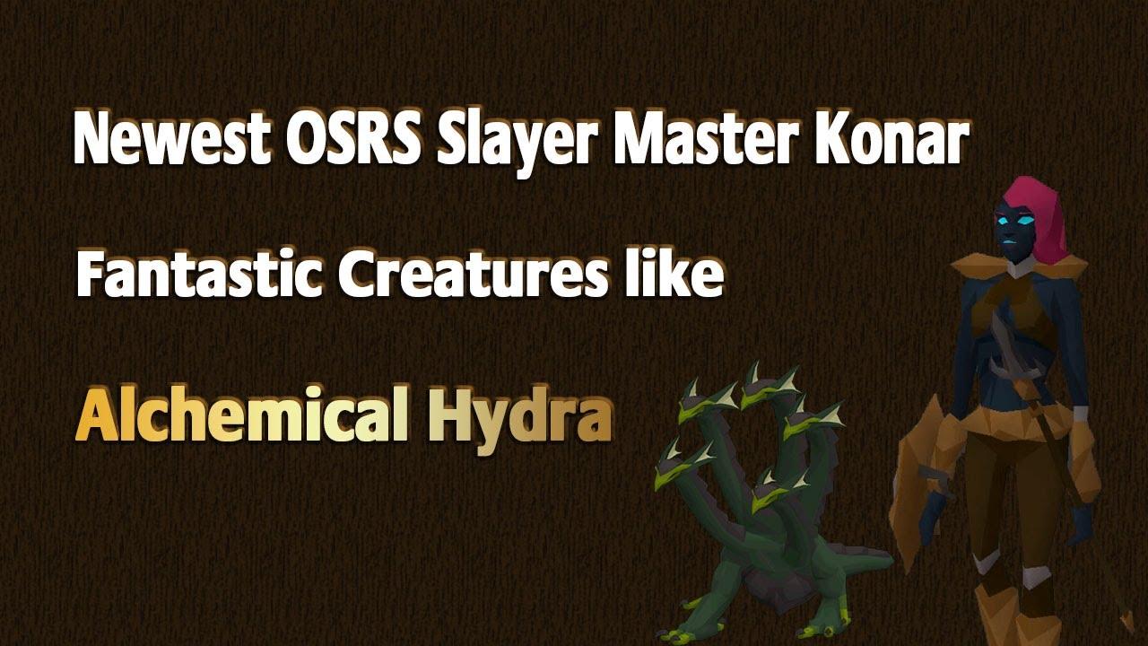 Detail OSRS Konar & New Monsters in Mount Karuulm Slayer Dungeon