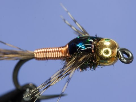 Fly Tying Copper John Youtube