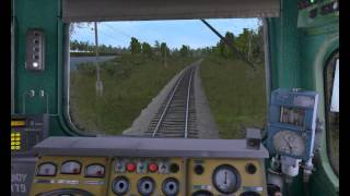 Покатушки на 2ТЭ10У - Trainz Simulator 12