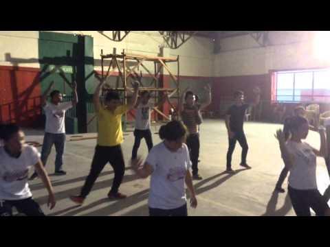 Practice kadayawan festiv dance