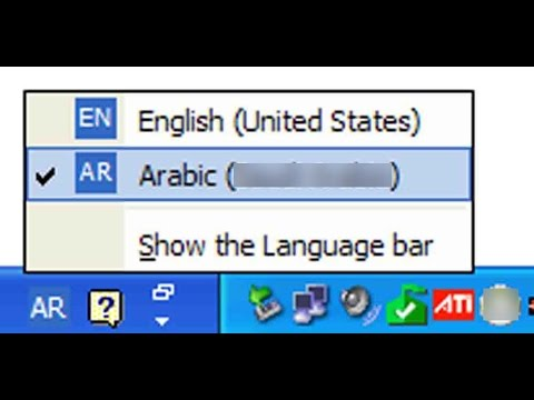 how to make english default language in windows 10